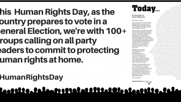 Happy international #HumanRightDay – Our Open Letter