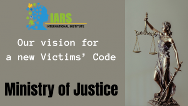 IARS formally submitted our response to the latest round of consultation on Improving the Victims' Code.